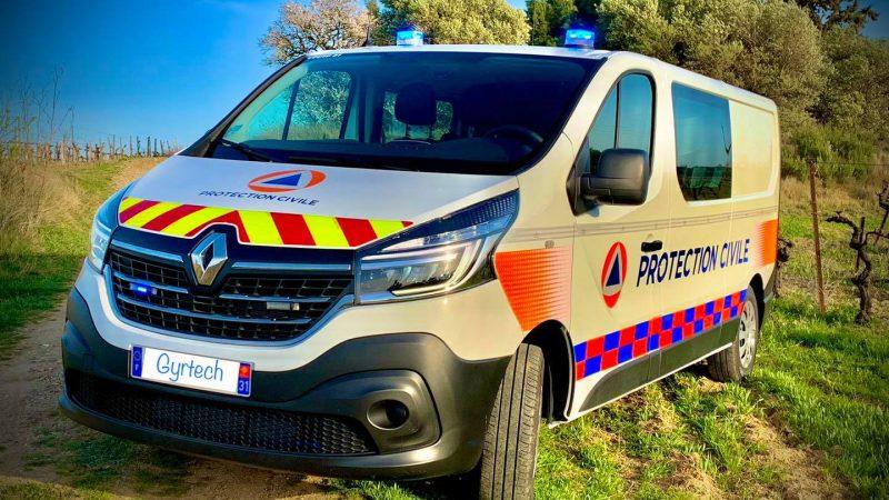 Renault Trafic de la Protection Civile de Haute-Garonne